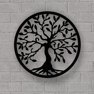 Tree Of Life Wall Art Metal Wayfair Co Uk