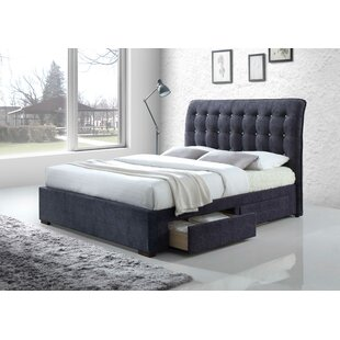 Rutland King Upholstered Storage Panel Bed by Rosdorf Park