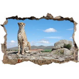 Majestic Cheetah Wall Sticker By East Urban Home
