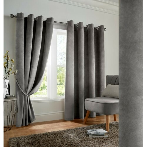 Cristina Eyelet Blackout Thermal Curtains Marlow Home Co.