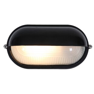 Price comparison Flintwood 1-Light LED Outdoor Bulkhead Light By Beachcrest Home