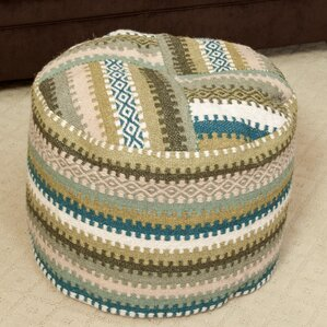 Adan Pouf Ottoman by Home Loft Concepts