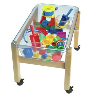 Mobile Mini Sand & Water Table By Childcraft