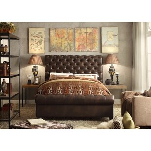 Affordable Calia Queen Upholstered Panel Bed by Mulhouse Furniture