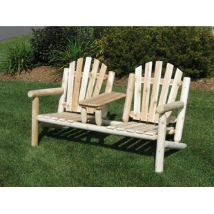Olney Cedar Tete-a-Tete Bench