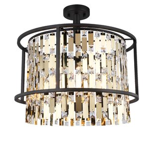 Mercer41 Landaverde 5-Light Semi Flush Mount
