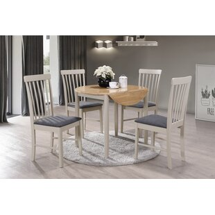 Extendable Dining Set With 4 Chairs By Hazelwood Home