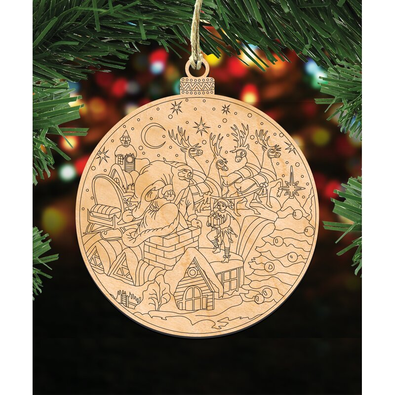 3 piece do it yourself christmas ornament set - Do It Yourself Christmas
