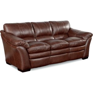 Burton Leather Sofa  sc 1 st  Wayfair : lazy boy leather sectional - Sectionals, Sofas & Couches