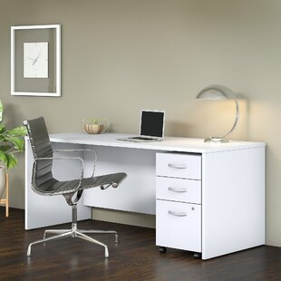 Studio C 2 Piece Writing Desk by Bush Business Furniture Herry Up