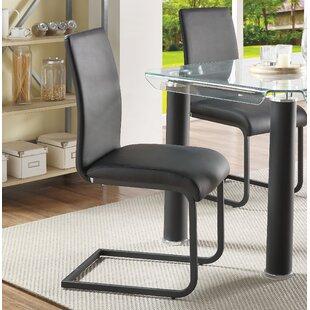 Best Len Upholstered Dining Chair (Set of 2) by Orren Ellis Reviews (2019) & Buyer's Guide