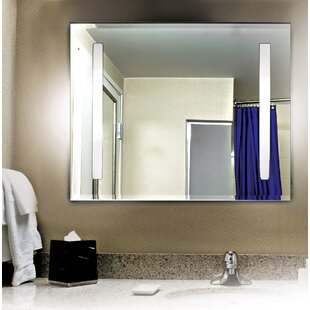 Deals Argos 2 Light Vanity Wall Mirror By Wade Logan
