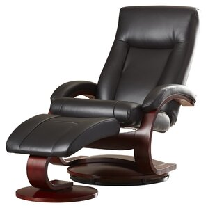 ergonomic living room chairs. Flathead Lake 54 Series Leather Swivel Recliner With Ottoman Ergonomic Recliners You ll Love  Wayfair