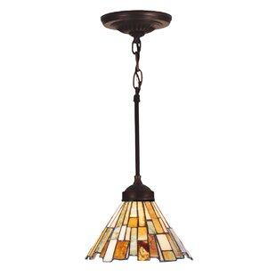 Affordable Weissman Delta 1-Light Cone Pendant By Astoria Grand