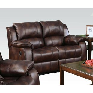 Hinz Upholstered Motion Reclining Loveseat