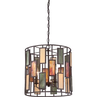 Rush 4-Light Cylinder Pendant By Loon Peak