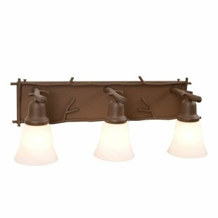 Steel Partners Sticks 3-Light Vanity Light