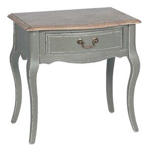 Genola 1 Drawer Bedside Table By Fleur De Lis Living