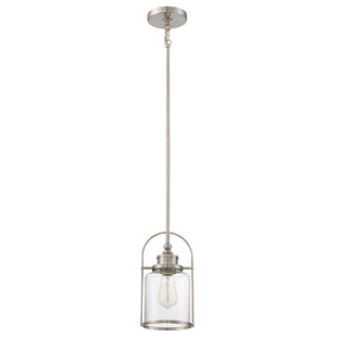 Breakwater Bay Lafitte 1-Light Bell Pendant