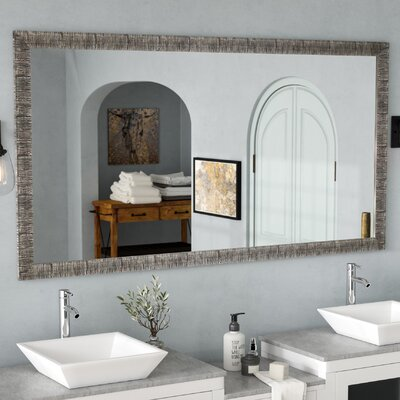 17 Stories Eisen BathroomVanity Mirror Size 555 inch H x 33 inch W