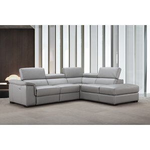 Brayden Studio Cropsey Reclining Sectional