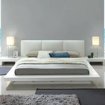 Orren Ellis Lavallee Storage Platform Bed Wayfair