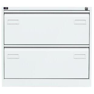 Light 2-Drawer Filing Cabinet By Bisley