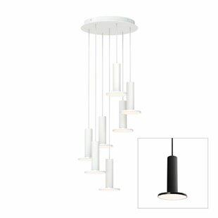 Cielo 7-Light LED Cylinder Pendant by Pablo Designs
