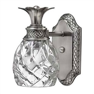 Buying Terry 1-Light Pineapple Accent Wall Sconce ByBeachcrest Home