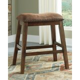 Southall Upholstered 24 Bar Stool (Set of 2) by Loon Peak®