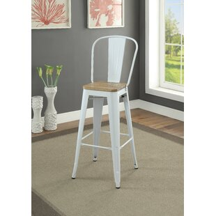 Colten Bar Stool (Set Of 2) by Gracie Oaks Bargain