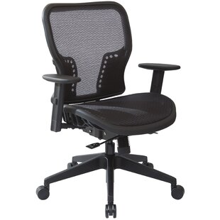 Office Star Products Space Seating High-Back Mesh Executive Chair