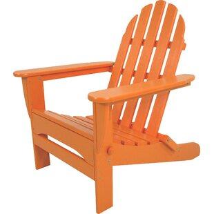 Superb Orange Plastic Adirondack Chairs Youu0027ll Love | Wayfair
