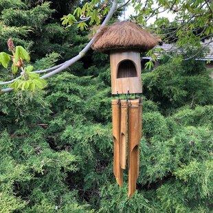 Midhurst Half Coconut Hanging Bird House By Sol 72 Outdoor