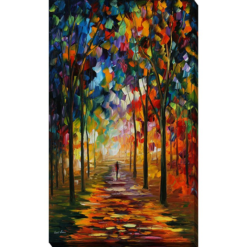 """12/""""x18/""""Forest path HD Canvas prints Painting Home Decor Picture Wall art Poster"""