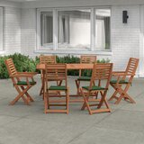 Geraldo 6 Seater Dining Set with Cushions