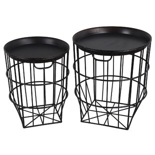 Hooper 2 Piece Nesting Tables by Williston Forge