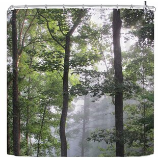 Rosie Brown Morning Fog Single Shower Curtain