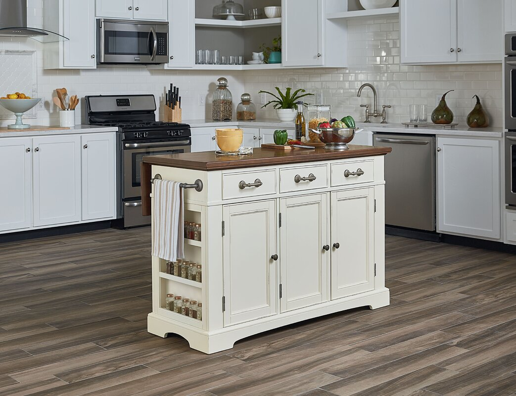 Darby Home Co Maile Large Kitchen Island & Reviews | Wayfair