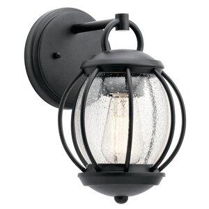 Haddox 1-Light Outdoor Wall Lantern