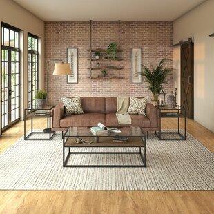 Williston Forge Alcantar 3 Piece Coffee Table Set