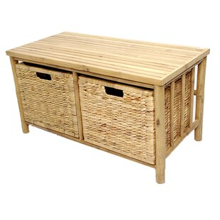 Bay Isle Home Elim Bamboo Storage Bench