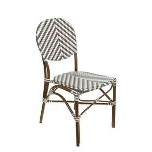 Ivy Bronx Beirut Stacking Patio Dining Chair (Set of 4)