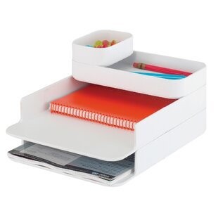 Stacking Plastic Desktop Sorter by Safco Products Company