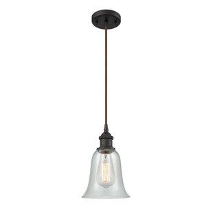 Charlton Home Maysville 1-Light Bell Pendant