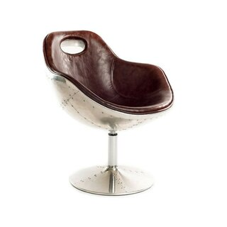 Wheeler Swivel Armchair by 17 Stories SKU:AA329244 Details