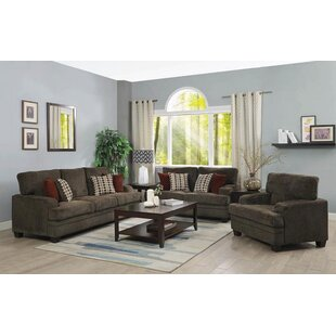 Reviews Carrillo 3 Piece Living Room Set by Alcott Hill Reviews (2019) & Buyer's Guide