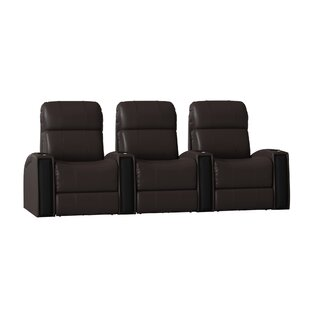 Home Theatre Lounger (Row of 3) by Latitude Run