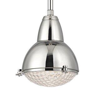 Brayden Studio Ezequiel 1-Light Cone Pend..