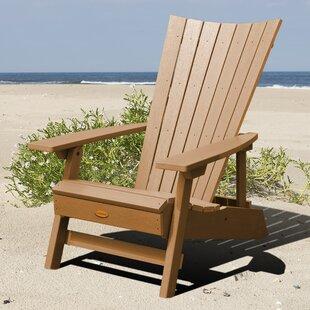 Deutsch Plastic Folding Adirondack Chair